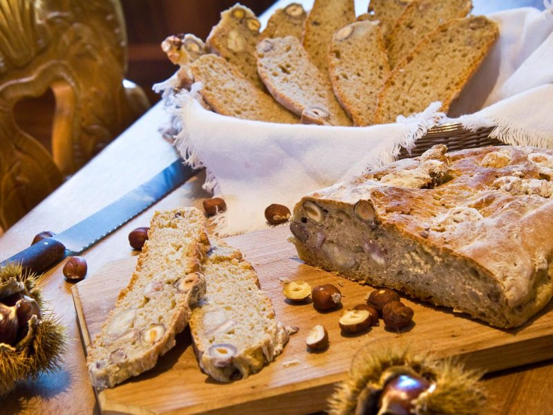 Home-made multi-grain bread