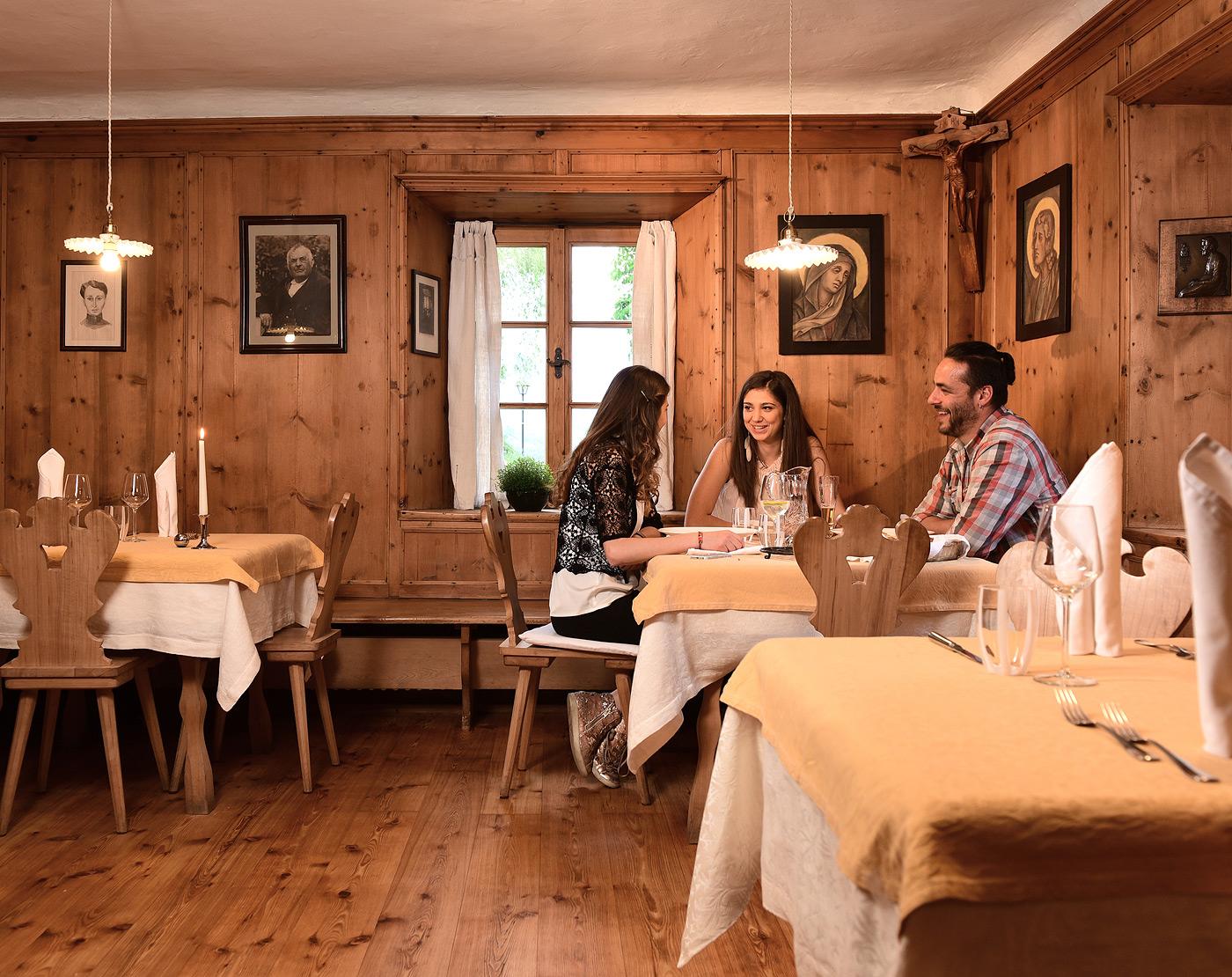 Restaurant in Gufidaun nahe Brixen Tischreservierung